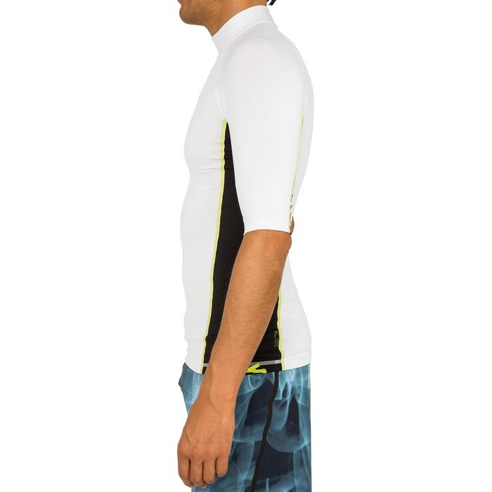 tee shirt anti uv surf top 500 manches courtes homme - 166732