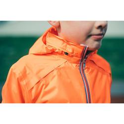 Veste pluie Athlétisme enfant rouge et bleue