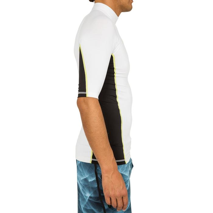tee shirt anti uv surf top 500 manches courtes homme - 166737