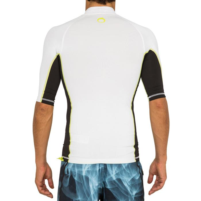 tee shirt anti uv surf top 500 manches courtes homme - 166738