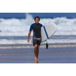 Boardshorts Surfen Standard 500S Gradient grau