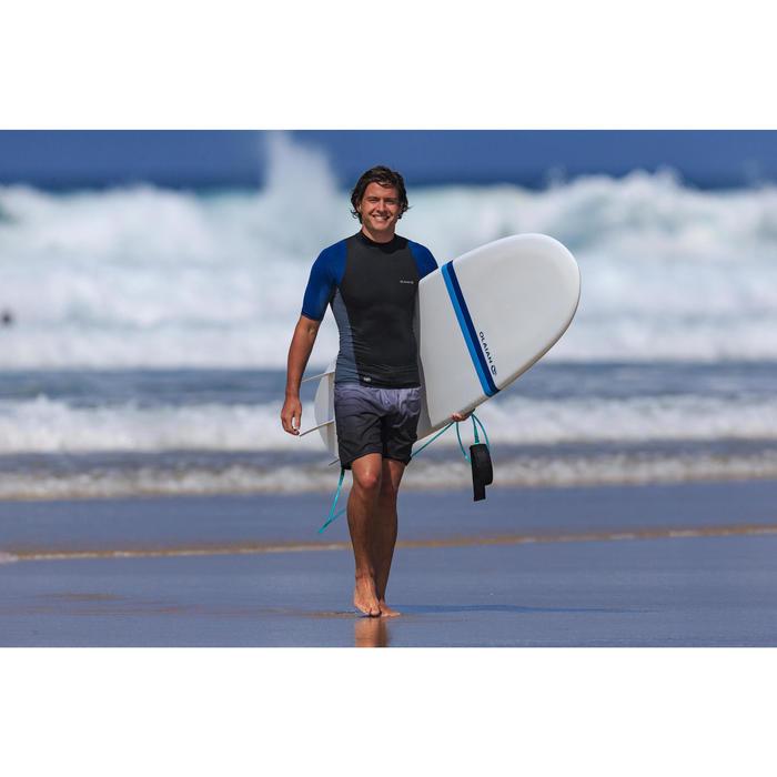 Surf boardshort standard 500 gradient grey