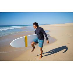 Surf boardshort court 500 Lines Blue