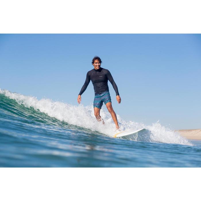 """Bañador Corto Surf Olaian 500 Lines Hombre Azul 16"""""""