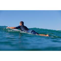 Surf boardshort standard 500 Floralmix Blue