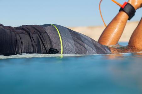Surfing Short Boardshorts 500 - Line Black
