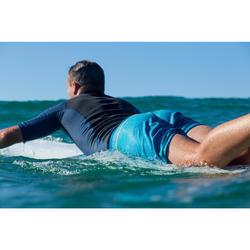 Kurze Boardshorts Surfen 500 Lines petrol