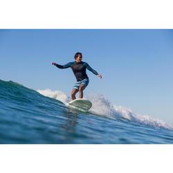 Kurze Boardshorts Surfen 500 Lines Frozen