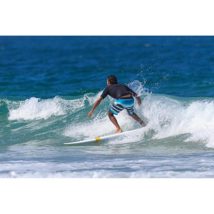 500 Long Surfing Boardshorts - Paint Block Frozen