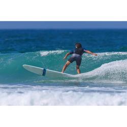 """Bañador Corto Surf Olaian 500 Gradient Hombre Gris Negro 18"""""""
