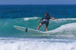 Surf short de bain standard 500 Gradiant gris