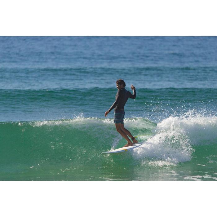 "Surfboard Hardboard 500 Evolutive 7'2"" mit 3 Finnen"