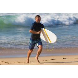 """Planche de surf Hardtop Evolutive 7'2"""" 500. Livrée avec trois ailerons."""
