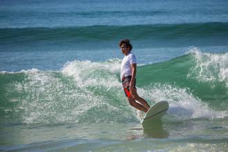 la protection solaire en surf