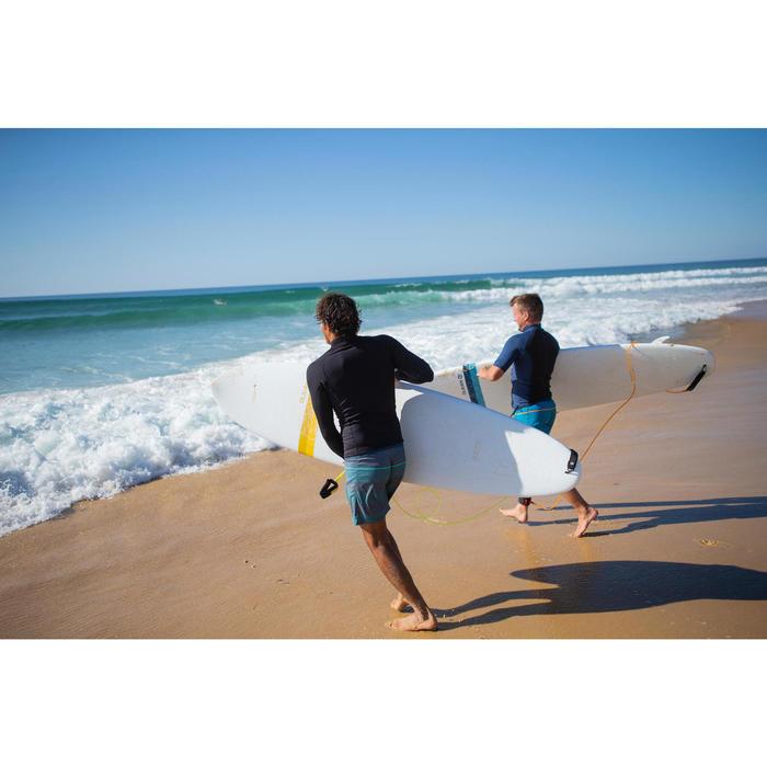 Thermische rashguard voor surfen heren 900 lange mouwen zwart