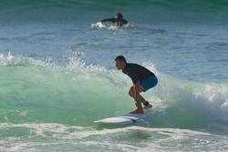 500 Short Surfing Boardshorts - Lines Petrol