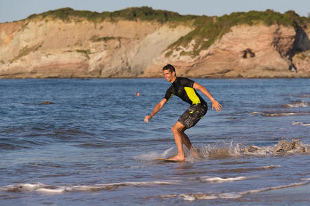 500 long surfing boardshorts Jungle grey