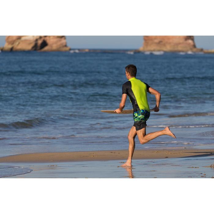 Surf boardshort standard 500 Tropicsquare Green