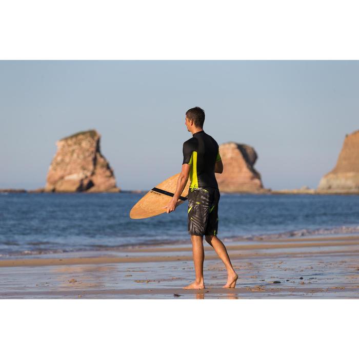 """Bañador Largo Surf Olaian 500 Jungle Hombre Gris 20"""""""