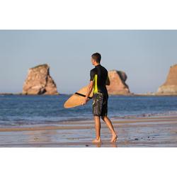Lange surf boardshort 500 Jungle grijs