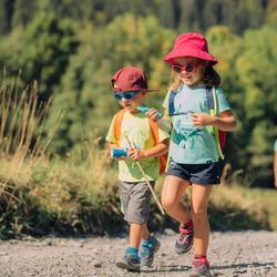 Wandelzonnebril voor kinderen 3-5 jaar MH K100 blauw categorie 3