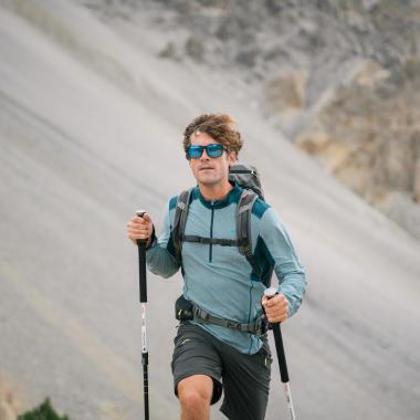 Brille auf dem Berg