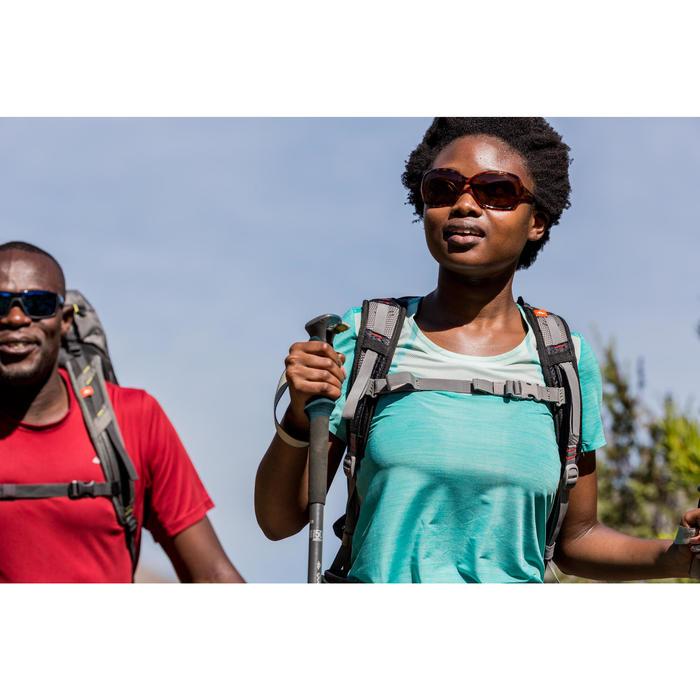 Lunettes de soleil de randonnée femme MH530W marron catégorie 3