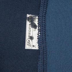 Thermische en uv-werende rashguard 900 met lange mouwen voor heren blauw - 166771