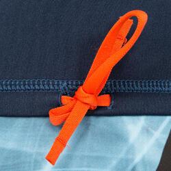 Thermische en uv-werende rashguard 900 met lange mouwen voor heren blauw - 166773