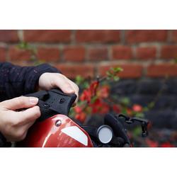 Fahrradhelm City 500 Bowl ziegelrot