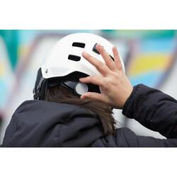 Fahrradhelm City 500 weiß
