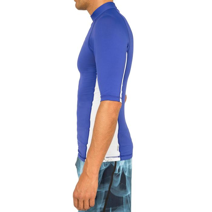 tee shirt anti uv surf top 500 manches courtes homme - 166792