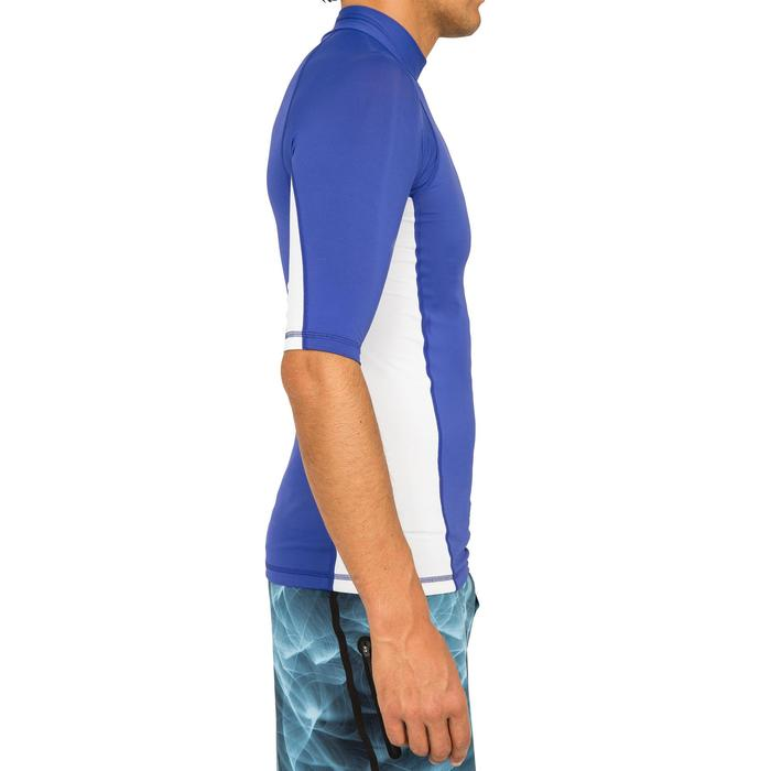 tee shirt anti uv surf top 500 manches courtes homme - 166795