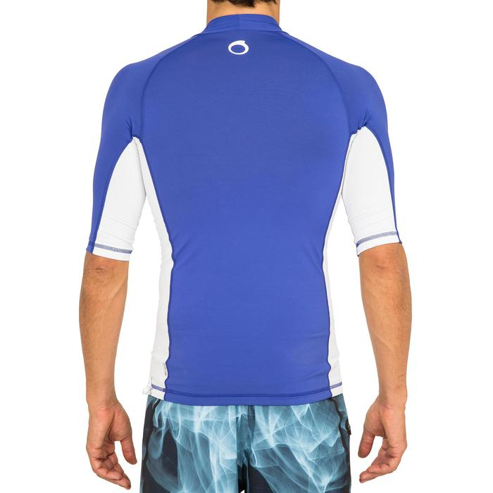 tee shirt anti uv surf top 500 manches courtes homme - 166797