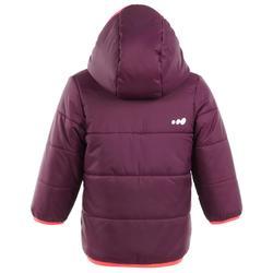 Veste de ski / luge bébé WARM reverse violette