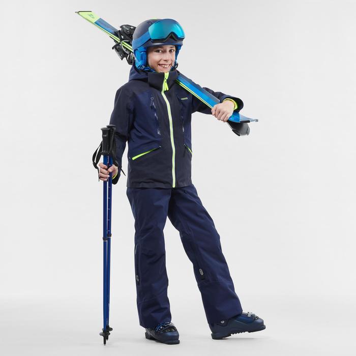 MASQUE DE SKI ET DE SNOWBOARD ENFANT ET ADULTE G 520 BEAU TEMPS Bleu