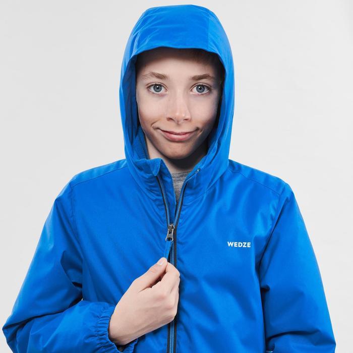 兒童滑雪外套100 - 藍色