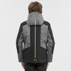 Ski-jas voor kinderen 900 grijs/zwart