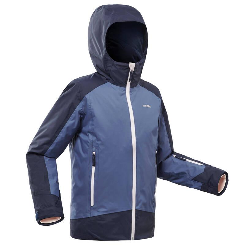 DÍVČÍ OBLEČENÍ NA LYŽOVÁNÍ (POKROČILÉ) Lyžování - DĚTSKÁ LYŽAŘSKÁ BUNDA 500  WEDZE - Lyžařské oblečení a doplňky