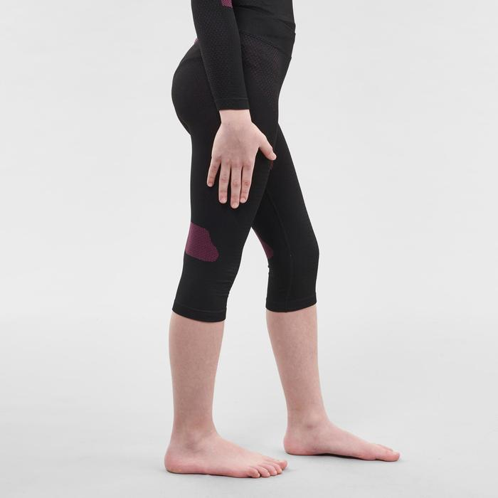 兒童滑雪底層褲900 - 粉色