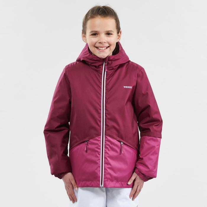 Ski-jas voor kinderen 100 paars