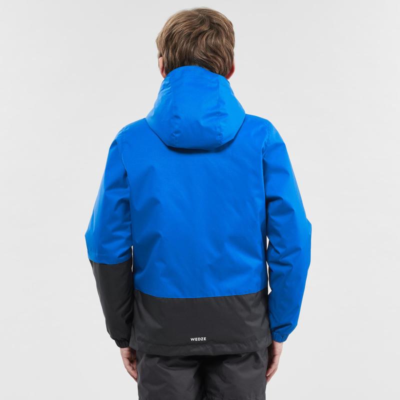 KIDS' SKI JACKET 100 - BLUE