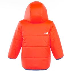 Baby Skiing/Sledging Reversible Jacket Warm - Orange