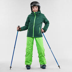 Kids' Ski Jacket 500 - Green