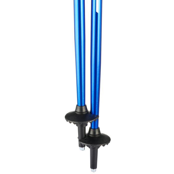 Skistokken voor kinderen Push Pin blauw