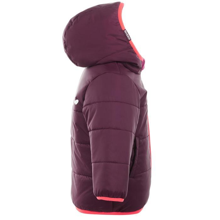 Skijacke warm Reverse Baby violett