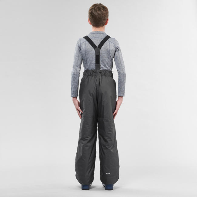 Kids' Ski Trousers 100 - Grey