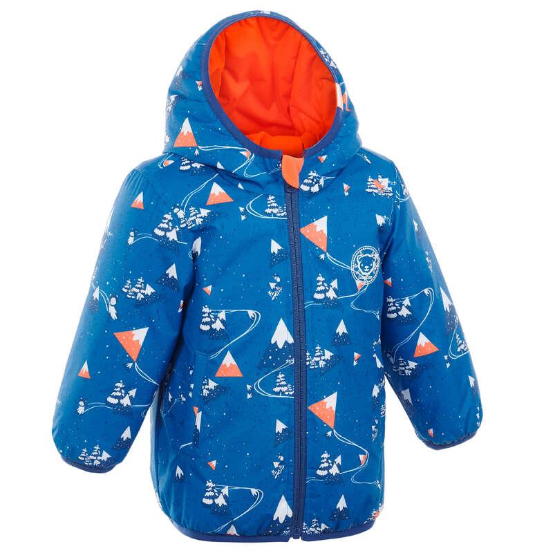 Baba síruházat Síelés - Baba kabát szánkózáshoz Warm LUGIK - Síelés