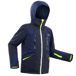 Winterjas kind | Ski jas kind | 900 marineblauw/geel | Wedze