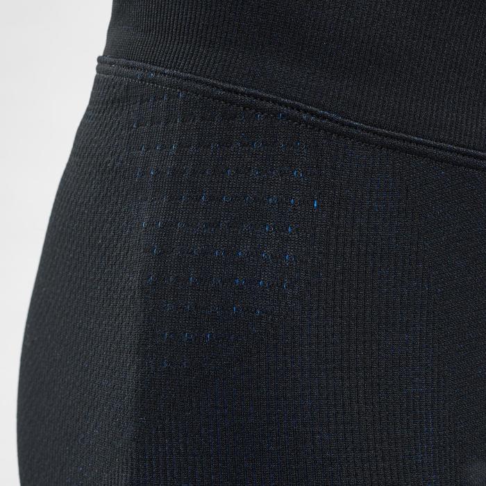 KIDS' SKI BASE LAYER BOTTOM BL 580 I-SOFT - BLACK/BLUE